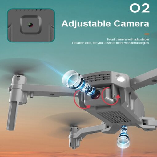 New R16 drone 4k HD dual lens mini drone WiFi 1080p real time transmission FPV drone 7