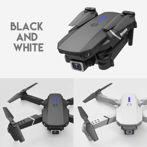 New RC Drone Quadrocopter with 4K Camera WIFI FPV Live Wide Angle HD Height Hold Dual 1