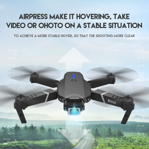 New RC Drone Quadrocopter with 4K Camera WIFI FPV Live Wide Angle HD Height Hold Dual 4