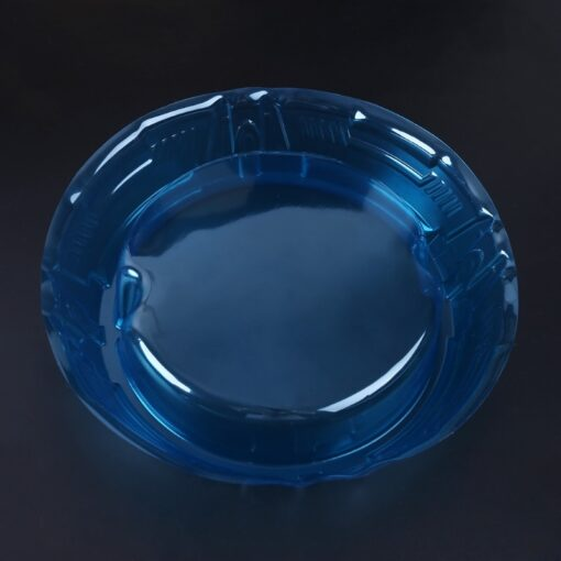 New Spinning Tops Stadium Battle Attack Top Plate Transparent Blue Combat Arena For Beylad 2