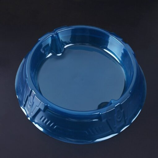New Spinning Tops Stadium Battle Attack Top Plate Transparent Blue Combat Arena For Beylad 3