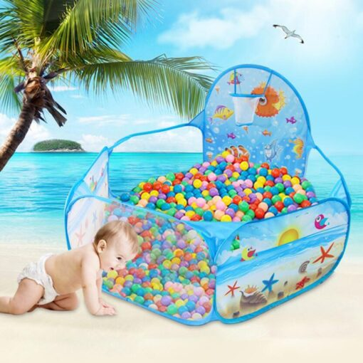 New Toys Tent Ocean Series Cartoon Game Ball Pits Portable Pool Foldable Children Outdoor Sports Educational 2
