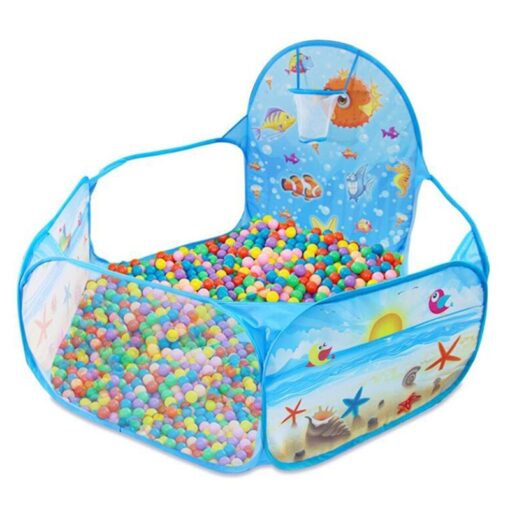 New Toys Tent Ocean Series Cartoon Game Ball Pits Portable Pool Foldable Children Outdoor Sports Educational 4