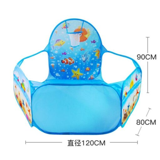 New Toys Tent Ocean Series Cartoon Game Ball Pits Portable Pool Foldable Children Outdoor Sports Educational 5