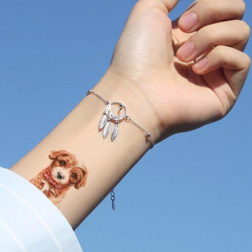 New Waterproof Children s Animal Tattoo Stickers Environmental Fun Cartoon Stickers Face Stickers Removable Tattoo Environmental 3