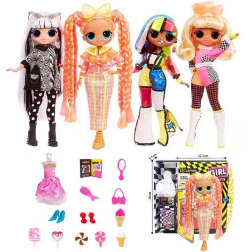 New lol surprise doll new product three generations OMG DOLL doll 9 inch fashion doll blind 1