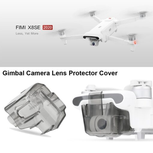 New toys for children Gimbal Camera Lens Protector Cover Cap Accessory For Xiaomi FIMI X8 SE