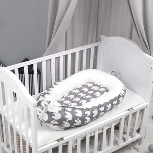 Newborn Baby Bed Baby Nest Bed Portable Crib Infant Toddler Cotton Travel Bed Cradle for Newborn 1