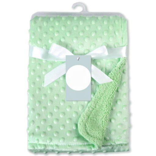 Newborn Baby Blankets Warm Fleece Thermal Soft Stroller Sleep Cover Cartoon Beanie Infant Bedding Swaddle Wrap 10