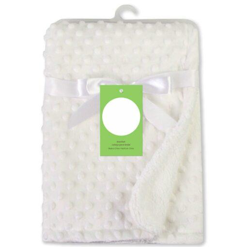 Newborn Baby Blankets Warm Fleece Thermal Soft Stroller Sleep Cover Cartoon Beanie Infant Bedding Swaddle Wrap 13
