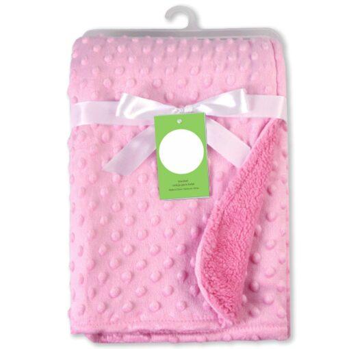 Newborn Baby Blankets Warm Fleece Thermal Soft Stroller Sleep Cover Cartoon Beanie Infant Bedding Swaddle Wrap 14