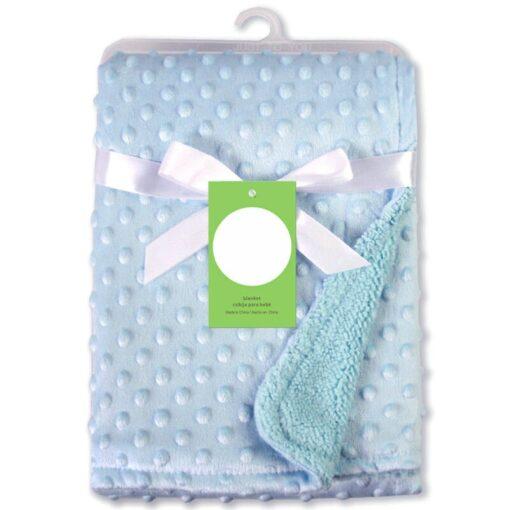 Newborn Baby Blankets Warm Fleece Thermal Soft Stroller Sleep Cover Cartoon Beanie Infant Bedding Swaddle Wrap 15