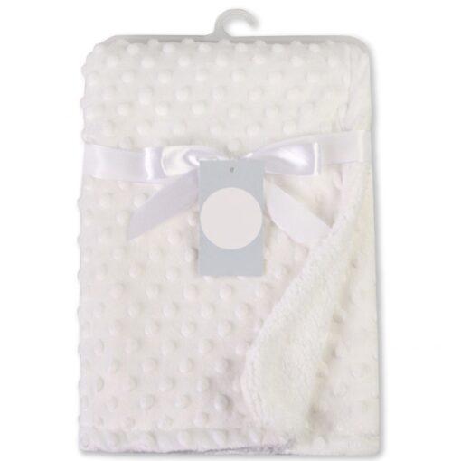 Newborn Baby Blankets Warm Fleece Thermal Soft Stroller Sleep Cover Cartoon Beanie Infant Bedding Swaddle Wrap 9