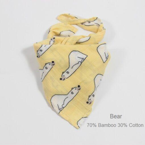 Newborn Blankets Bamboo Bath Baby Swaddle Kids Muslin Organic Cotton Fabric Super Soft Stuff Girls Burp 2