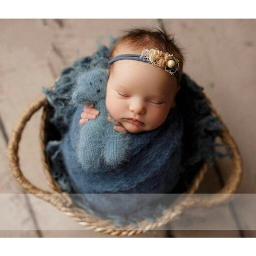 Newborn Nphotography props basket children s studio woven basket baby photo baby photo weaving frame Infant 1