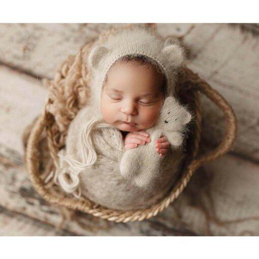 Newborn Nphotography props basket children s studio woven basket baby photo baby photo weaving frame Infant