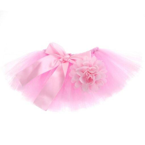 Newborn Photography Props Baby Tutu Skirt Pink Photo Props Headband Hat Set Fotografia Prop Suit for