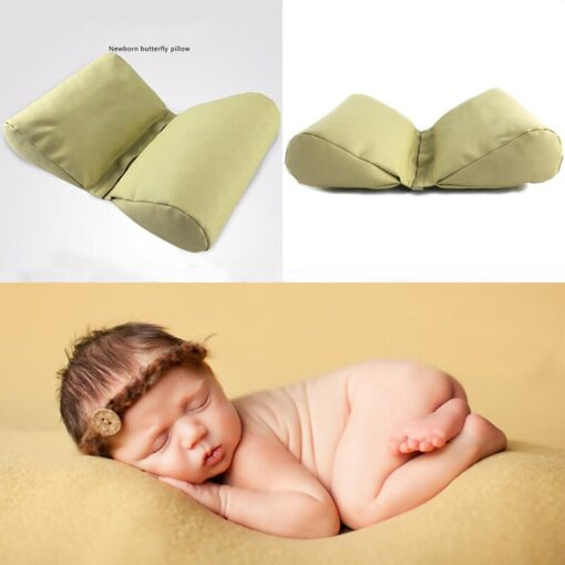 Newborn Posing Pillows Cushion Pad for Infant Baby Photo Shooting Baby Photography Props Accessories Wedge Butterfly 1