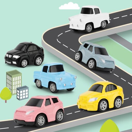 North European Style Kids Car City Scene Taffic Highway Map Play Mat Educational Toys For Children 3