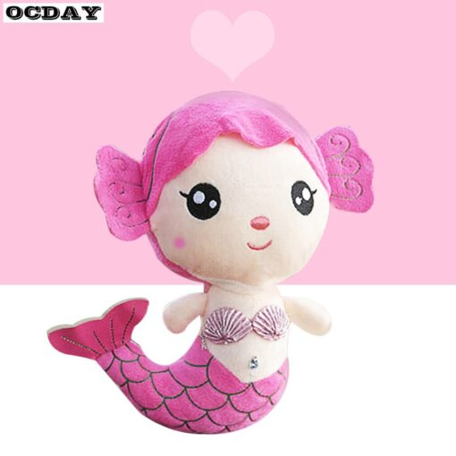 OCDAY Plush Toys Gift For Children Cute Lovely Plush Princess PP Cotton Toy For Baby Kids 2
