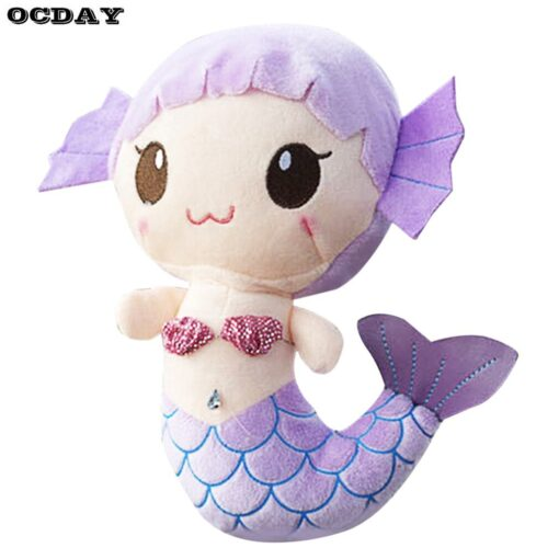 OCDAY Plush Toys Gift For Children Cute Lovely Plush Princess PP Cotton Toy For Baby Kids 4