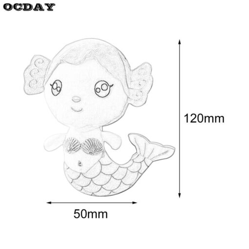 OCDAY Plush Toys Gift For Children Cute Lovely Plush Princess PP Cotton Toy For Baby Kids 5