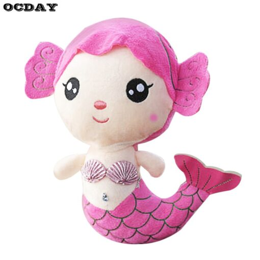 OCDAY Plush Toys Gift For Children Cute Lovely Plush Princess PP Cotton Toy For Baby Kids