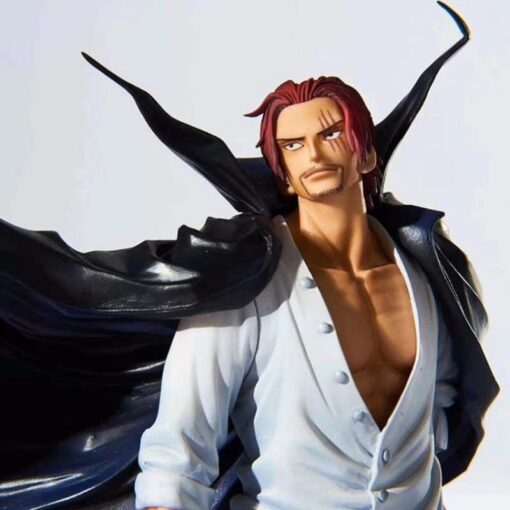 One Piece 19cm Anime Figure Shanks Grand Line The Battle Over The Dome Red Hair PVC 1