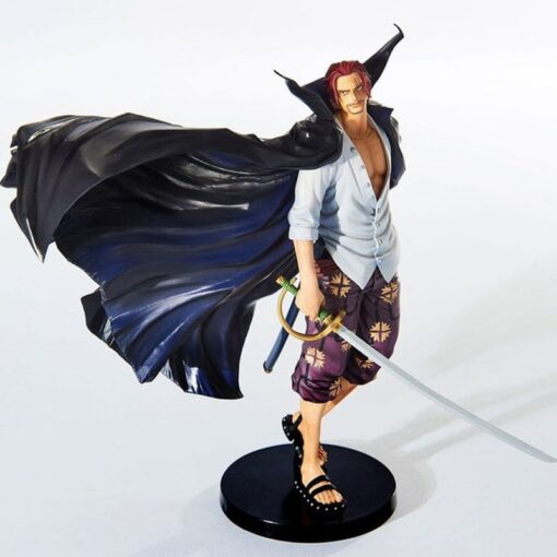One Piece 19cm Anime Figure Shanks Grand Line The Battle Over The Dome Red Hair PVC
