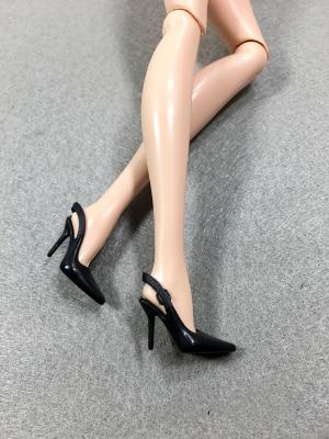 Original Doll Shoes High Heels Super Model FR Body Figure Doll Shoes 1 6 Doll Casual 5