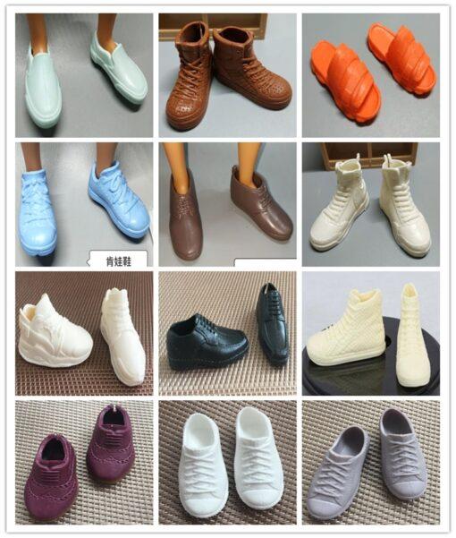 Original Ken Prince Male Doll Shoes Boots Sandals Fashion 1 6 Male Doll Decors Parts Kids