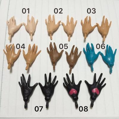 Original Monstering High Doll Replacement Hands Elbows Fish Man Snow Queen Ghost Clear Doll Accessories Parts 2