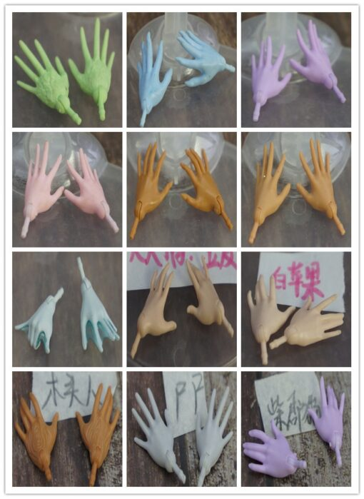 Original Monstering High Doll Replacement Hands Elbows Kids DIY Playing Doll Accessories Parts One Pair Price 1