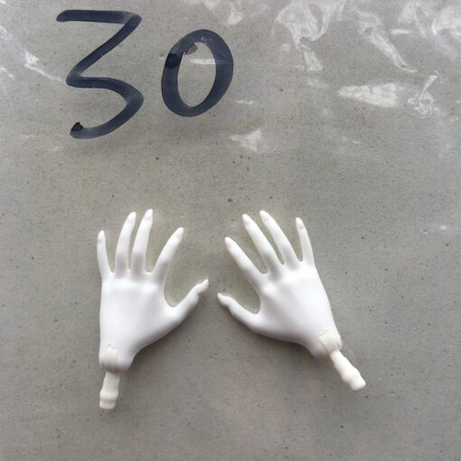 Original Monstering High Doll Replacement Hands Elbows Kids DIY Playing Doll Accessories Parts One Pair Price 3