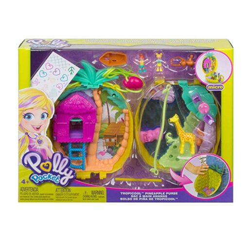 Original Polly Pocket Girls Dolls Family House Car Kids Toys Polly Accessories Mini Pocket Dolls for 4