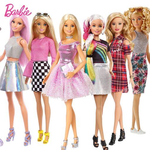 Original Pop Star Barbie Doll Toy Girl Birthday Present Girl Brinquedos Bonecas Kids Toys for Kids