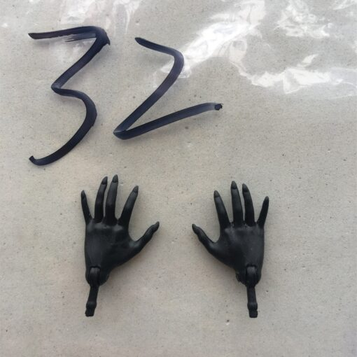 Original Replacement Doll Hands Black White Blue Fish Lady Monstering High Doll Toy Parts Kids Playing 2