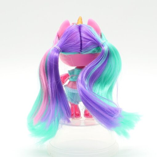 Original lolo Doll Figure Action Toy figure surprise Poopsies Silcone Slime Unicorn BJD Sister Dolls Toy 1