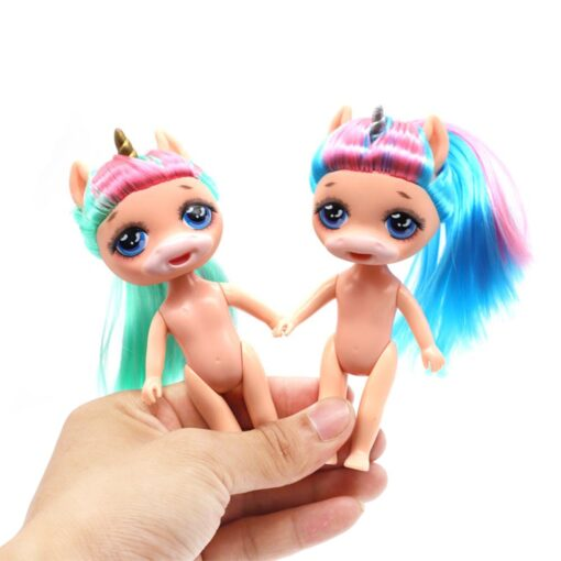 Original lolo Doll Figure Action Toy figure surprise Poopsies Silcone Slime Unicorn BJD Sister Dolls Toy 4