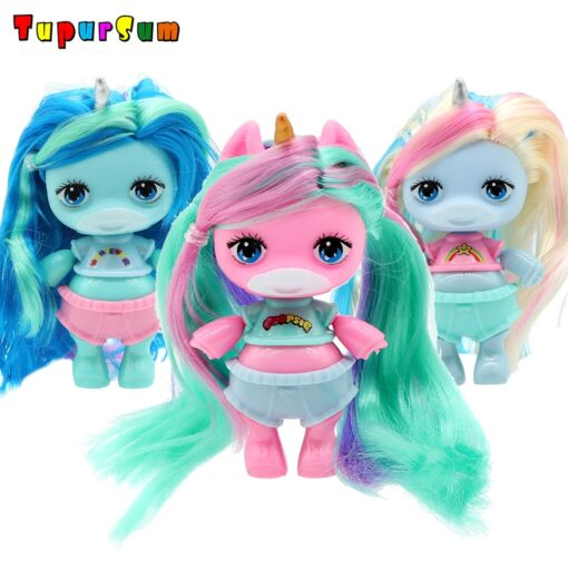 Original lolo Doll Figure Action Toy figure surprise Poopsies Silcone Slime Unicorn BJD Sister Dolls Toy