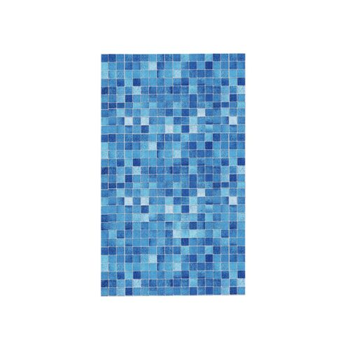 Original wall stickers bedroom Kitchen Oil Proof Blue Square Wallpaper Self adhesive Bathroom Bathroom Stickers 20JULY08 4