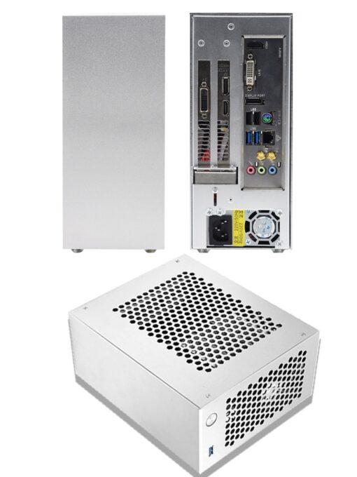 PC Gaming Case ITX MINI Small Case All Aluminum Suitcase Portable HTPC Desktop 4