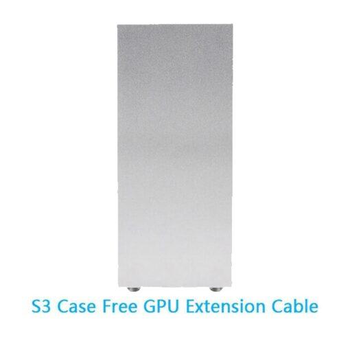PC Gaming Case ITX MINI Small Case All Aluminum Suitcase Portable HTPC Desktop 5