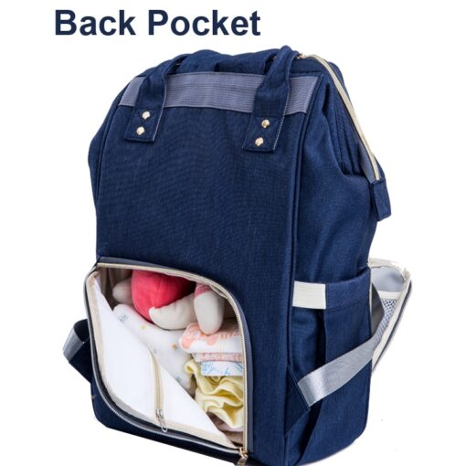 PYETA Baby Diaper Bag Backpack With Wet Bag For Mommy Travel Nappy Bag For Baby Stuff 2