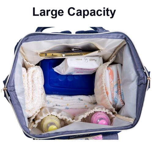 PYETA Baby Diaper Bag Backpack With Wet Bag For Mommy Travel Nappy Bag For Baby Stuff 3