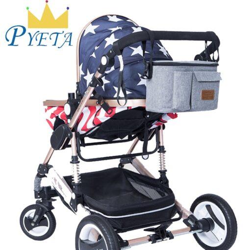 PYETA New Arrival Baby Stroller Bag For Baby Stuff Organizer Diaper Bag For Mom Travel Nappy
