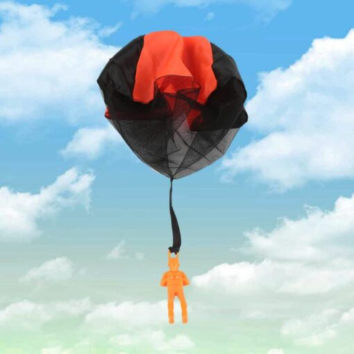 Parachute Hand Throwing Mini Soldier Parachute Funny Toy Kid Outdoor Game Play Educational Toys Fly Parachute 1