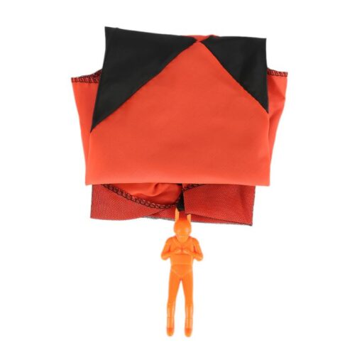Parachute Hand Throwing Mini Soldier Parachute Funny Toy Kid Outdoor Game Play Educational Toys Fly Parachute 5