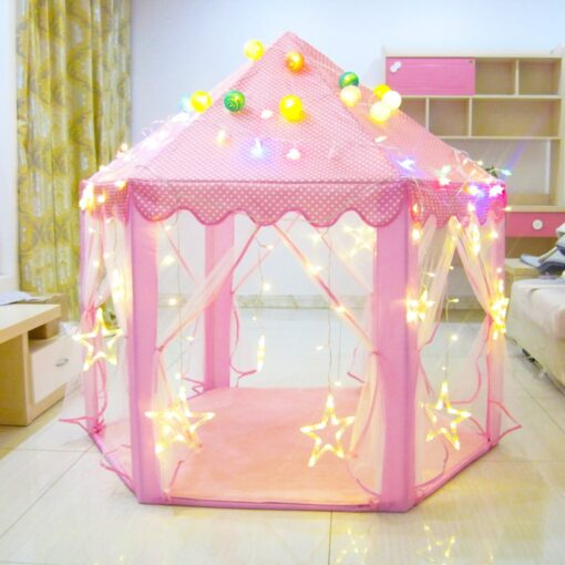 Play House Game Tent Toys Ball Pit Pool Portable Foldable Princess Folding Tent Castle Gifts Tents 1