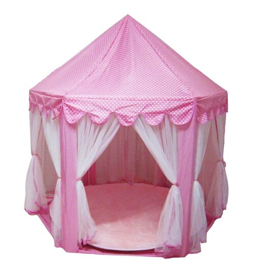 Play House Game Tent Toys Ball Pit Pool Portable Foldable Princess Folding Tent Castle Gifts Tents 2